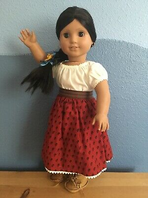 Lovely 1st Ed. Pleasant Company German American Girl Josefina doll w/ box EUC!
