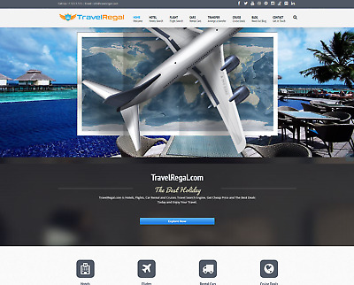 Established Profitable Turn-Key FULLY Automated TRAVEL Business Website For Sale