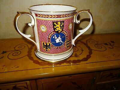 A Large Limited Edition Caverswall Loving Mug  - 1st European Parliament 1979