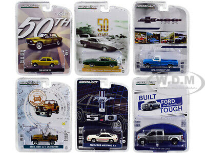 Greenlight Anniversary Collection Series 7 1/64 Diecast Cars By Greenlight 27970