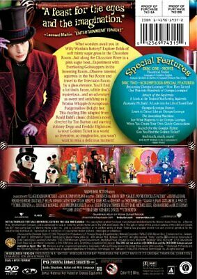 Charlie and the Chocolate Factory (Two-Disc Deluxe Edition) - DVD (Very Good)