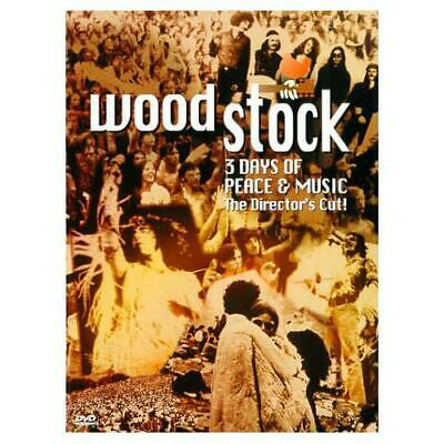 Woodstock - 3 Days of Peace & Music (The Director's Cut) - DVD (Like New)