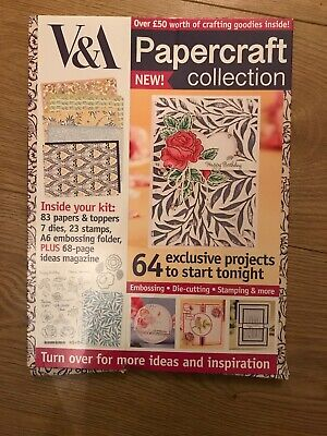 V & A Papercraft Collection Issue 1 Includes Over £50 Worth Of Goodies