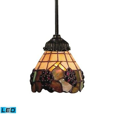 Elk Lighting Mix-N-Match 1-Light Pendant in Tiffany Bronze - 078-TB-07-LED