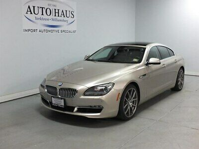 2015 BMW 650i  2015 BMW 650i GRAN COUPE - LOOKS/RUNS/DRIVES EXCELLENT! CLEAN CARFAX!