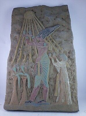 RARE ANCIENT EGYPTIAN AMUN Ra Royal Stela 1352-1142 BC