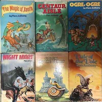 The Magic of Xanth, Centaur Aisle, Ogre, Ogre, Night Mare, Golem in the Gears an