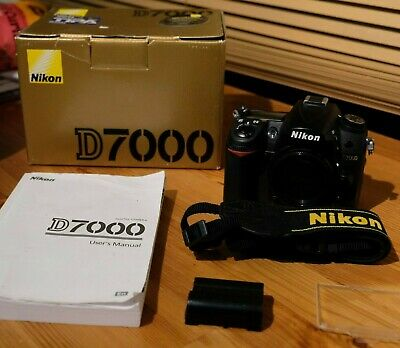 Nikon D7000 DSLR Body Only - Very good condition. Shutter count less than 8k