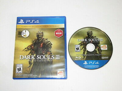 Dark Souls Iii The Fire Fades Edition Ps4 Playstation 4