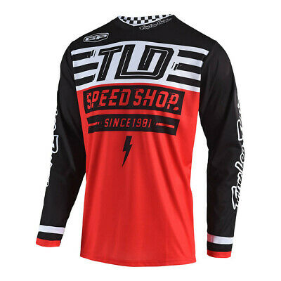 Troy Lee Designs GP Air Bolt Mens MX Offroad Jersey Red