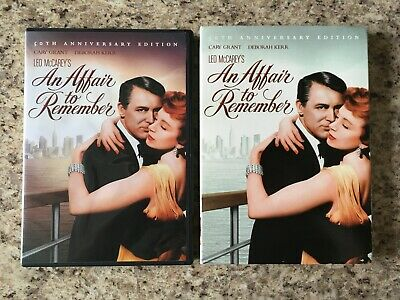 AN AFFAIR TO REMEMBER DVD 50th Anniversary Edition with Slipcover Deborah Kerr
