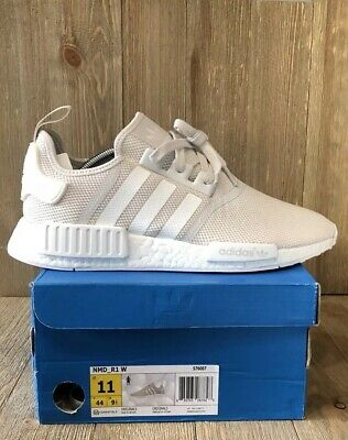 ADIDAS NMD R1 Talc Cream Tan Sand Sneakers Womens Size 11