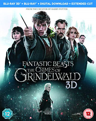 Fantastic Beasts: The Crimes Of Grindelwald (UK IMPORT) BLU-RAY NEW