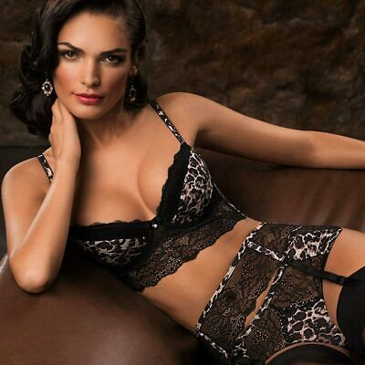 6221c0df5 FOREVER 21 LONGLINE Unlined Lace Strappy Bra Size S  i8509 -  6.99 ...