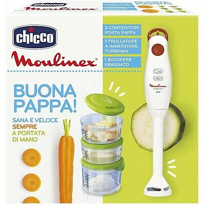 Kit Weaning Chicco Good Food Moulinex
