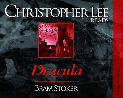 Dracula (Christopher Lee Reads...) by Stoker, Bram, Audio CD Book, New, FREE & F