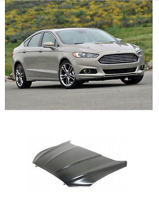 Ford Mondeo 2014- Bonnet Primed New High Quality Insurance Approved