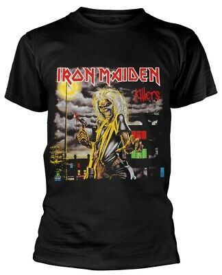 Iron Maiden ' Killers Cover ' T-Shirt - Nuevo y Oficial