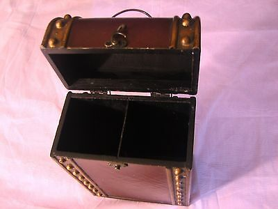 Retro Vintage Wine Wood Case Holder Carrier Double Bottle Storage Crate Box