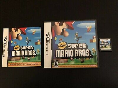 New Super Mario Bros. (Nintendo DS, 2006) COMPLETE, TESTED