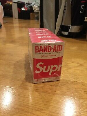 SUPREME BAND AID Band-Aid ( AUTHENTIC (LOT OF 6) SS19 Week 2 (IN HAND) 6 Boxes
