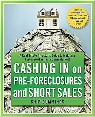Cashing in on Pre-Foreclosures Short Sales Real Estate Inv by Cummings Chip