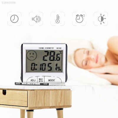 6611 Gauge Instruments Humidity Meter Gift Hygrometer Mini ABS LCD Display