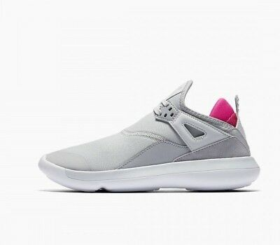 c7fb66cdf5a9e NIKE JORDAN FLY 89 Girls 6.5 Youth NEW Shoes Athletic Mesh Gray Pink  AA4040-008 -  52.00