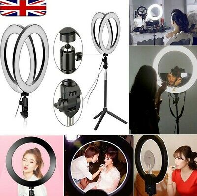 Dimmable Studio Camera Ring Light Photo Phone Video Selfie Beauty and Fashion