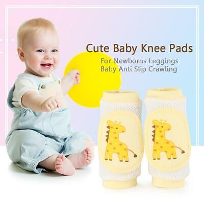 Baby Safety Crawling Knee Pads Elbow Anti-slip Cushion Infant Toddler Protector