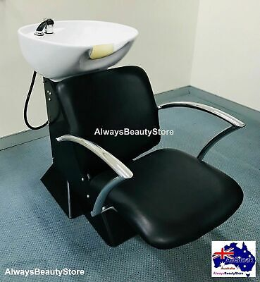 Shampoo Basin Backwash Basin Hairdressing Washing Chair Unit Heavy Metal Base