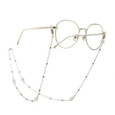 New Crystal Beads Eyeglass Cord Reading Glasses Eyewear Spectacles Chain Holder