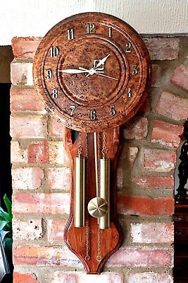 Antique Style Wall Quartz Clock with Westminster Chimes