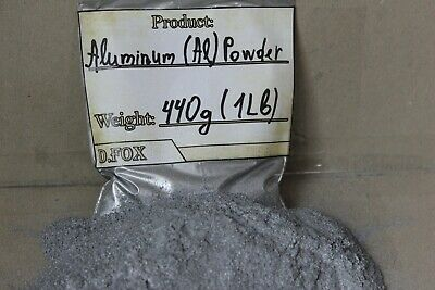 440g (1 Lb) Aluminium Aluminum Metal Powder Top Quality Laboratory - Al 99.8%