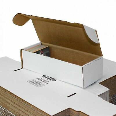 Sports//Trading//Game Card 25x BCW 100 COUNT CT Corrugated Cardboard Storage Box