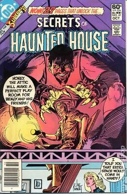 Secrets of Haunted House #41 1981 VG Stock Image Low Grade