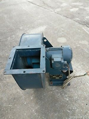 High Pressure Centrifugal Fan Blower, 3 Phase Extractor - Made In Romania