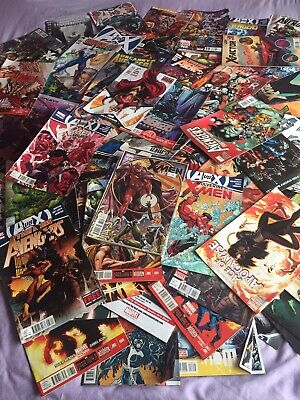 Job Lot/bundle Marvel Comics/dc/avengers/spiderman 114 Comics!!!
