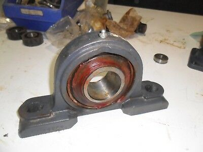A67)  Fafnir 12263 Pillow Block Bearing Smn203K Rrb3 55Mm Bore From Clearance