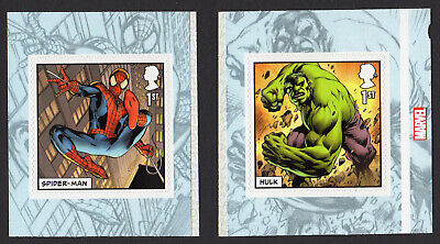 2019 MARVEL COMICS - SELF ADHESIVE Single Stamps from Booklet PM65