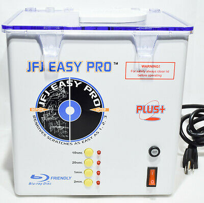 JFJ Easy Pro Video Game CD DVD Blu-Ray Repair Machine 110V TESTED WORKING