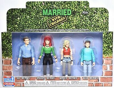 FUNKO Married With Children Action Figures (4 Pack) 2018 NYCC Exclusive >NEW<
