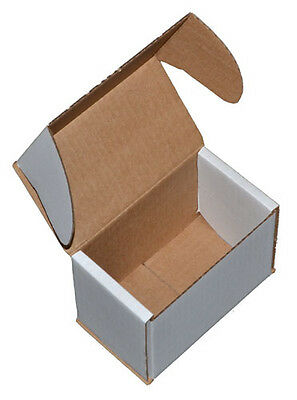 White Smashproof Cardboard Postal Boxes for Mugs 140mm x 85mm x 100mm