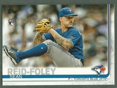 Sean Reid-Foley RC 2019 Topps Series 1 Toronto Blue Jays Rookie Card! SRF
