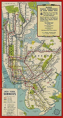 New York City Subway Map Poster.1972 New York City Subway Map Massimo Vignelli Art Print Poster