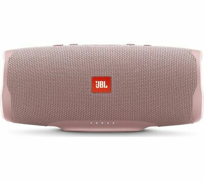 JBL Charge 4 Portable Bluetooth Speaker - Pink - Currys