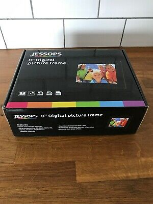 "Brand New Jessops 8"" Digital Picture Frame"