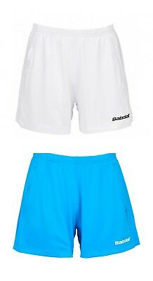 Women's Babolat Match Core Shorts - Medium - Uk 8-10 - White Or Blue **new**