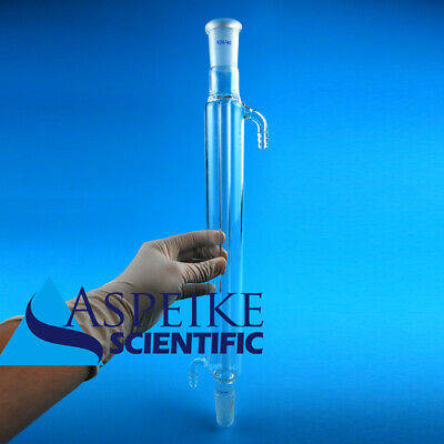 New Straight Condenser Glass Joint 24/40 length 300mm Lab Glassware,Column S