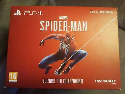 SONY Playstation 4 PS4 - MARVEL SPIDER-MAN Collector Edition - PAL ITA nuovo